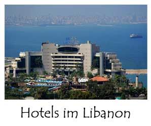 Libanon Hotels