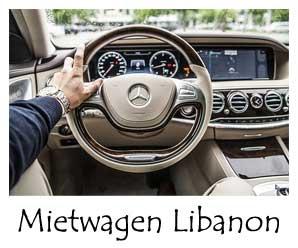 Libanon Mietwagen